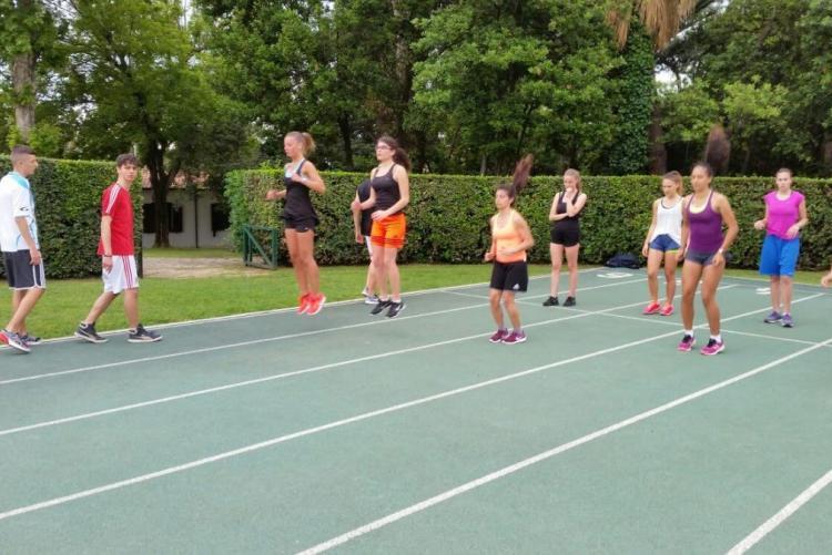 athletic camp