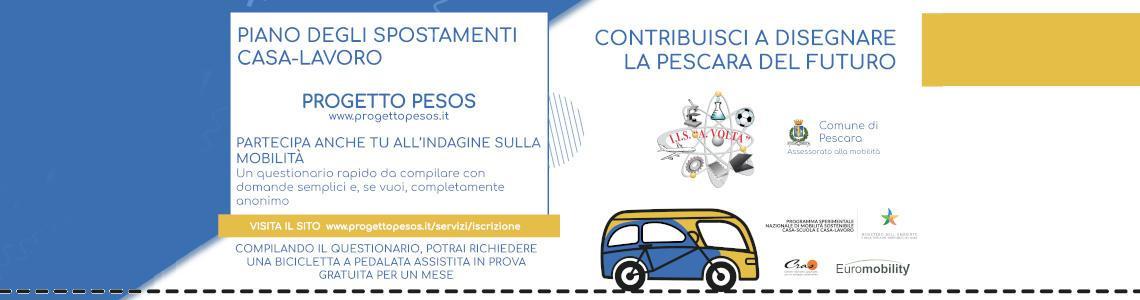 Progetto di mobilità sostenibile: PESOS e VOLTA